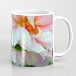 Pink Peony Blossom and Bud Coffee Mug