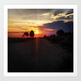Perfect Sunset II Art Print