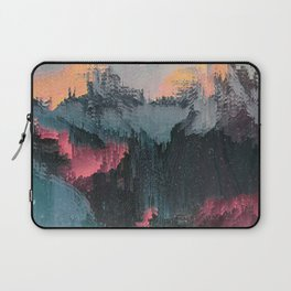 Glitched Landscapes Collection #1 Laptop Sleeve