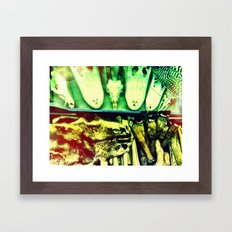 Used Animal Parts Framed Art Print