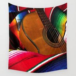 Guitar 1 Wall Tapestry