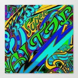 Super Watzer Trip Canvas Print