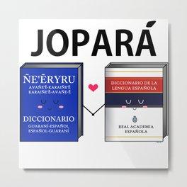 Jopara Love Metal Print
