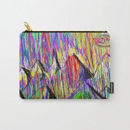 Colour Falls - Matt Texture 6 Carry-All Pouch