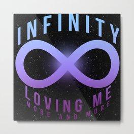 Infinity // Mariah Metal Print