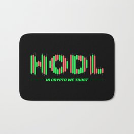 In Crypto We Trust (HODL) Bath Mat