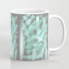 brush type green Coffee Mug