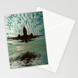 Flight path  Stationery Cards