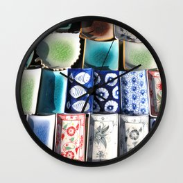 Ceramic Tableware Wall Clock