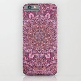Secret Garden Magenta iPhone Case