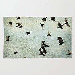 Birds Let's fly Rug