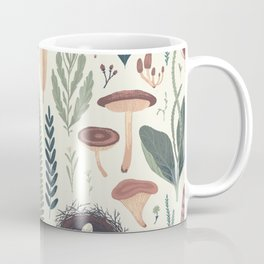 Forest Fall Pattern Coffee Mug