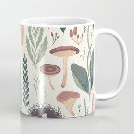 Forest Fall Pattern Coffee Mug