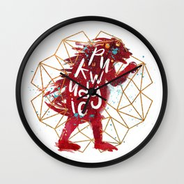 Pukwudgie Wall Clock