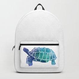 Sulcata Tortoise Silhouette (sparkles) Backpack