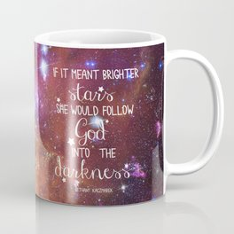 Strains of Silence by Bethany Kaczmarek | Quote 1 Coffee Mug
