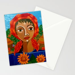 Sunflowers of Hope Stationery Cards