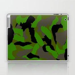 Green Camouflage Design Laptop & iPad Skin