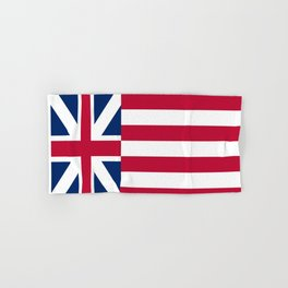 Historical flag of the USA: grand union flag Hand & Bath Towel