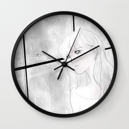 Melancholy Wall Clock