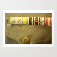 military Art Prints featuring Military by sannngat