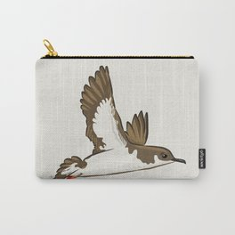 Simple Minimalist Manx Shearwater Flying Carry-All Pouch