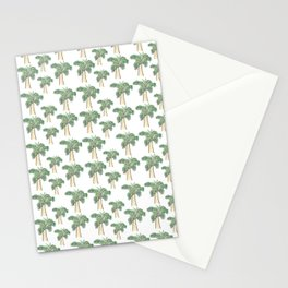 Palmen Muster* Stationery Cards