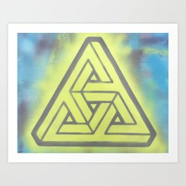 Penrosian Triad Art Print