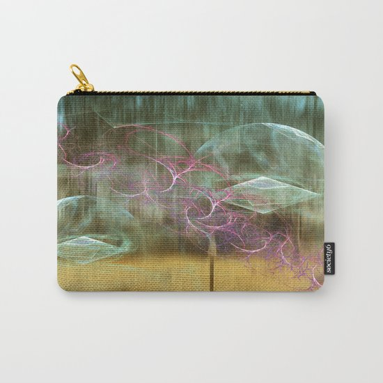 Laundry Line in Abstract Carry-All Pouch