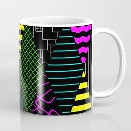Bright Multi Patterned Diamond Collage Coffee Mug
