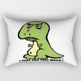 I hate you this much! Rectangular Pillow