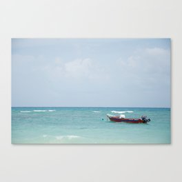 Boat in the Gulf Canvas Print
