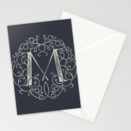 """M""ONOGRAM Stationery Cards"