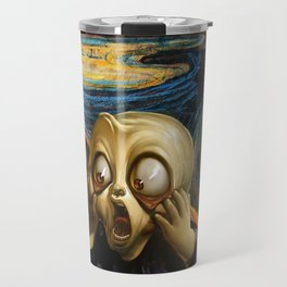 The Scream Travel Mug