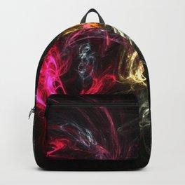 Good v Evil Fractal Backpack