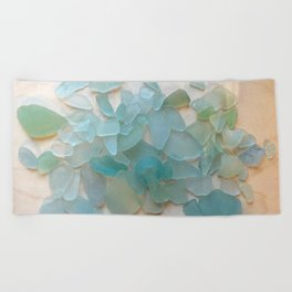 Ocean Hue Sea Glass Beach Towel