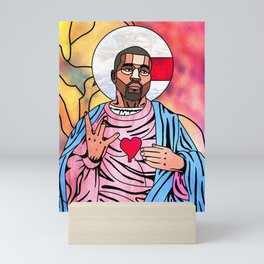 What Would Jesus Do? Mini Art Print