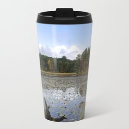 Lily Lake Landscape Travel Mug