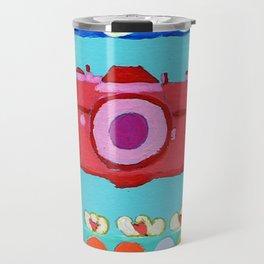 colorful camera Travel Mug