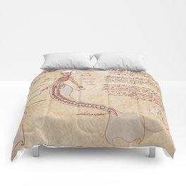 Anatomy of the Mermaid Comforters