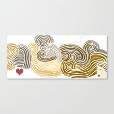 hair dream Canvas Print