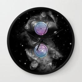 The Vinyl Frontier Wall Clock