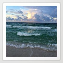 Florida Sunrise Art Print
