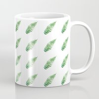 coyote Mugs featuring Coyote by Amber Lundy Leigh