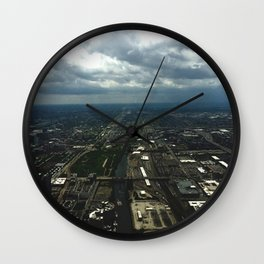Sky View Chicago Wall Clock