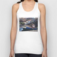 boats Tank Tops featuring Fishing Boats by Mr and Mrs Quirynen