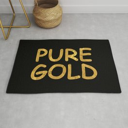 Pure Gold Rug