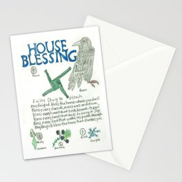 House Blessing Stationery Cards