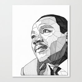 Dr. King Canvas Print