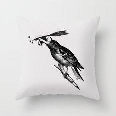 The Experimetal Artist Throw Pillow